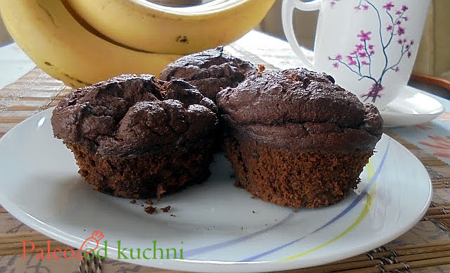 Muffiny dyniowo-kakaowe